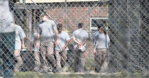 North Carolina will send 3,500 prisoners home early to avoid the virus
