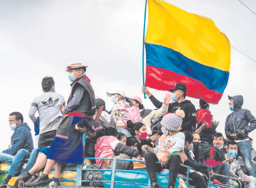 Indigenous Colombians, facing new wave of brutality, demand gov't action