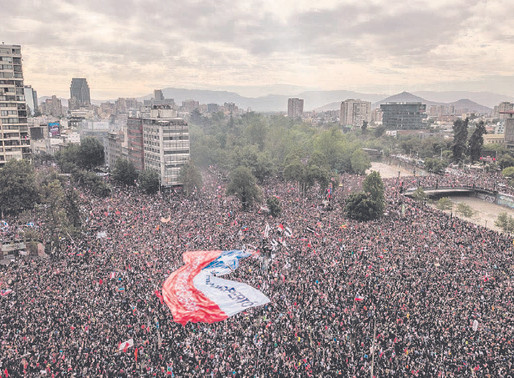 'An end to the chapter of dictatorship': Chileans vote to draft a new Constitution