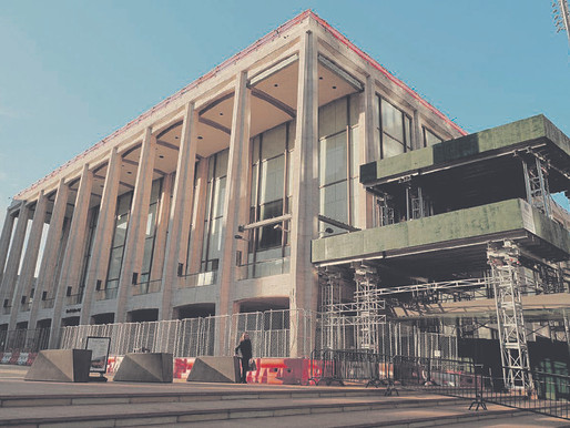 A pandemic opportunity: Geffen Hall's overhaul accelerates