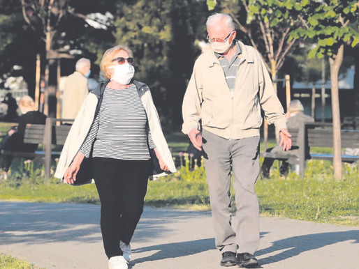 Brisk walking is good for the aging brain