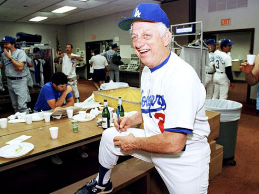 Lasorda was a star, and a tactician who had vision