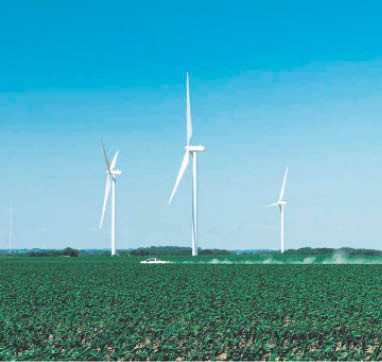 How the virus slowed the booming wind energy business
