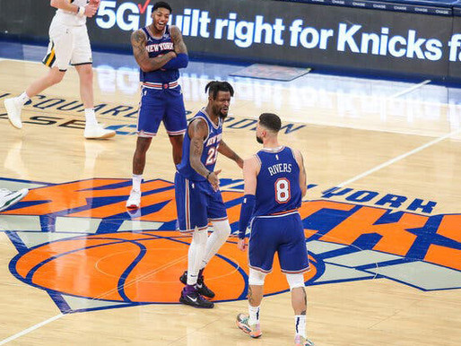 The Knicks are off to a decent start. Is this a drill?