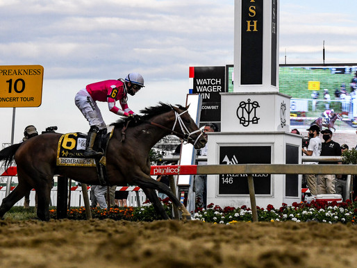Rombauer wins the Preakness, surging as Medina Spirit fades to third