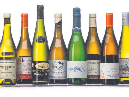 From Savoie, white wines that refresh like mountain air