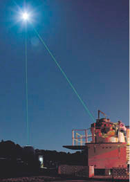 How do you solve a moon mystery? Fire a laser at it