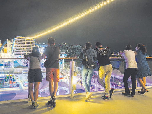 A COVID-free cruise takes planning, but the strip show goes on