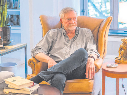 Erik Larson has a scary story he'd like you to hear