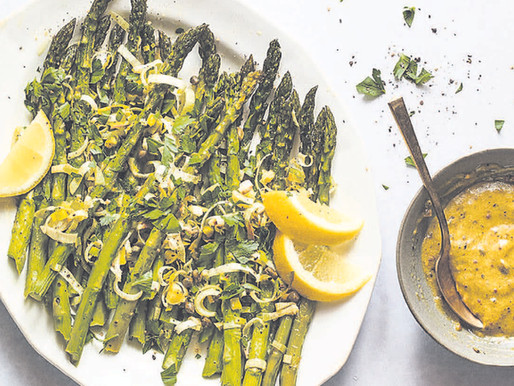 Getting the best out of thick asparagus