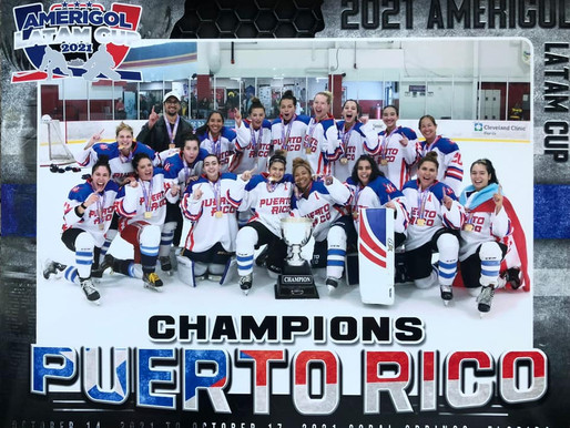 'Las Chicas' make history with ice hockey gold