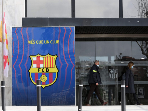 Police raid FC Barcelona and detain four people