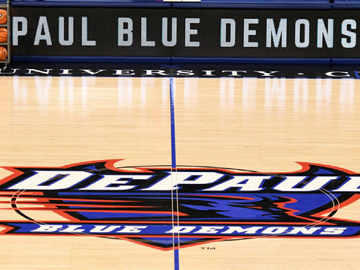 One month behind, DePaul starts its men's basketball season