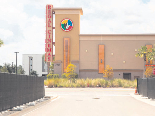 With no new films, Regal Cinemas shuts down again