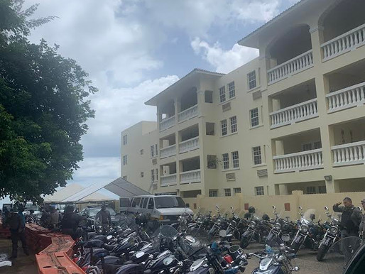 Heavy police presence continues at Rincón protest site