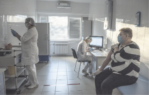 In vaccine geopolitics, a great game played with Ukrainians' health