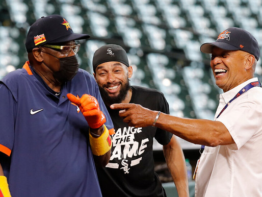 Mr. October traded his pinstripes for an Astros cap