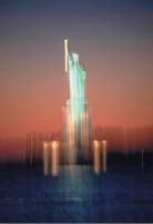 Trump runs red light. Almost kills Lady Liberty.