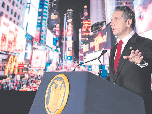 With state in crisis, Cuomo outlines plan to 'win the COVID war'