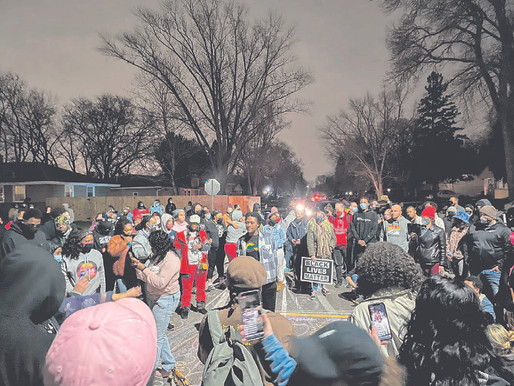 Protesters clash with police after Minnesota officer shoots Black man