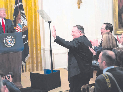 Holding fast to Trump, Pompeo angers diplomats, foreign and domestic
