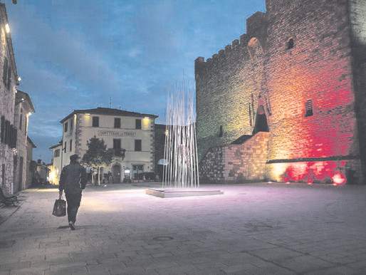 Without tourism, life in a Tuscan village slides back in time