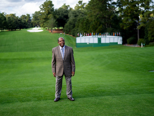 Georgia is facing a political onslaught. At the Masters, it's business as usual.