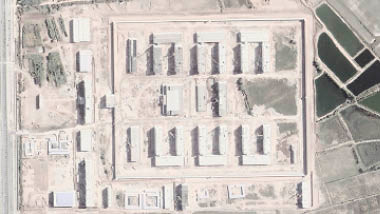 Night images reveal many new detention sites in China's Xinjiang region