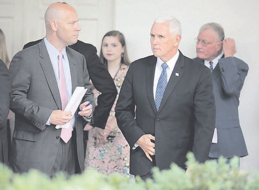 Members of Pence's inner circle test positive for coronavirus