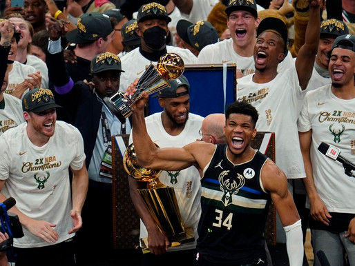 Bucks win their 2nd NBA title, 50 years after their 1st