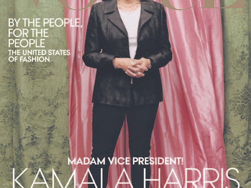 How a Vogue cover created an uproar over Kamala Harris