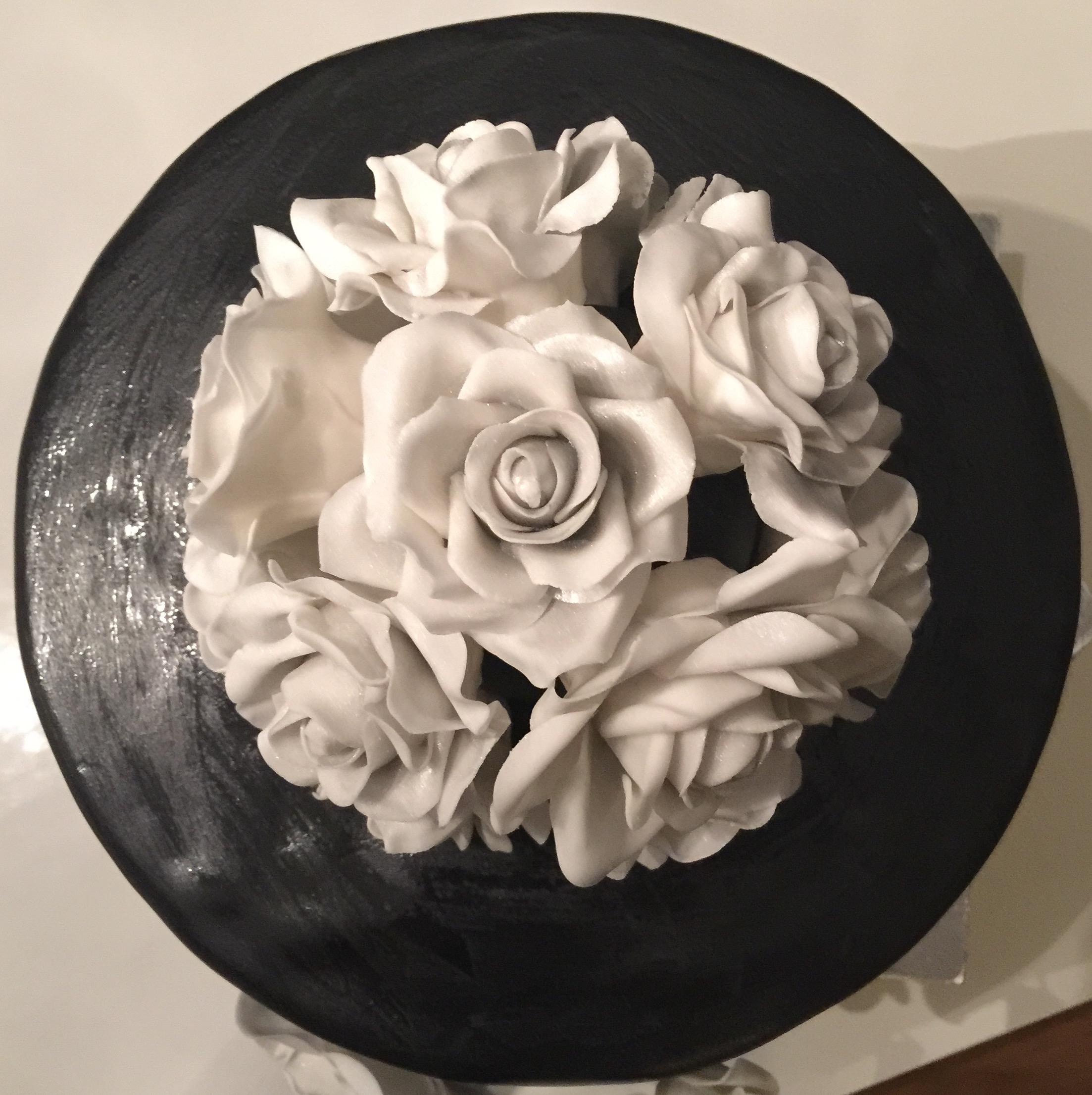 bruidstaart-zwart-bovenkant