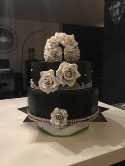 bruidstaart-zwart