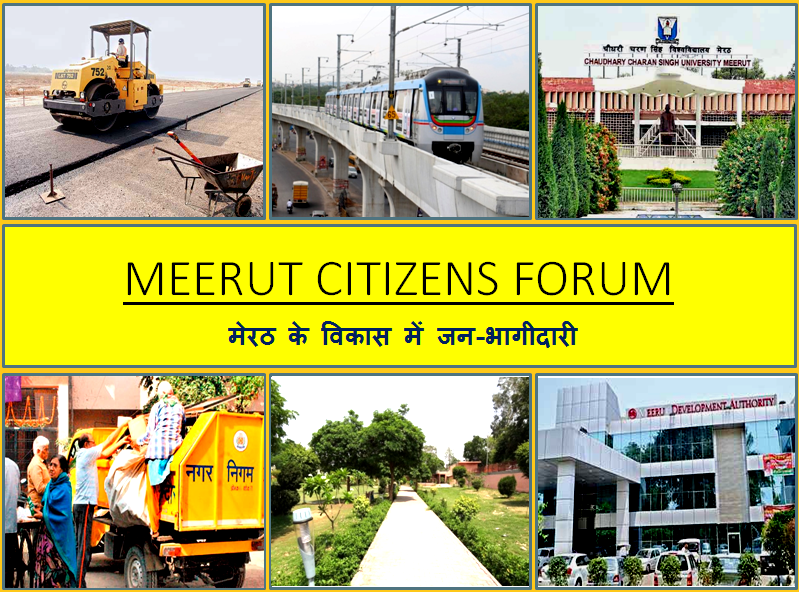 Meerut city projects tracked by Meerut Citizens Forum