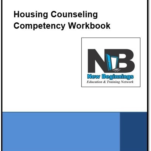 Housing Counseling Competency (HCC) Workbook