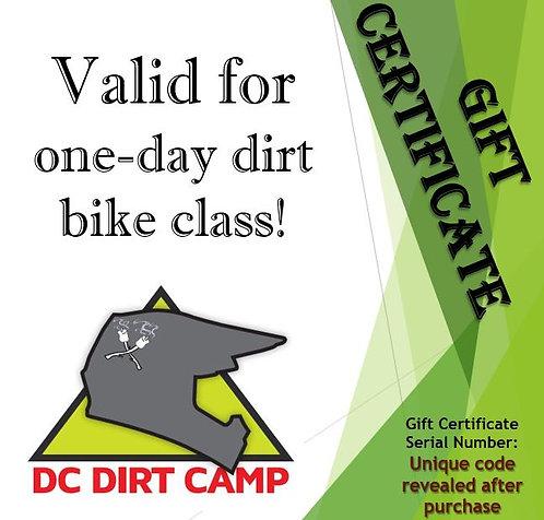 2021 Dirt Bike Class