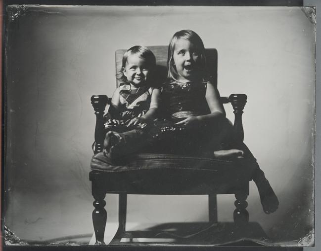 sisters_8x10 tintype