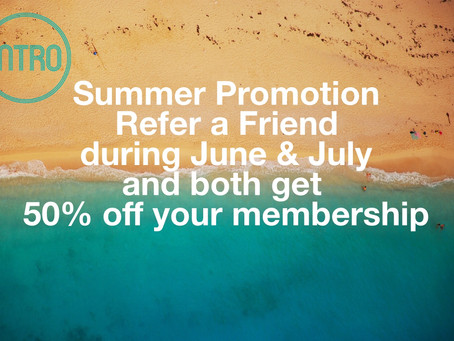 50% off INTRO matchmaking membership during June & July