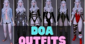 DOA Outfits Skyrim LE