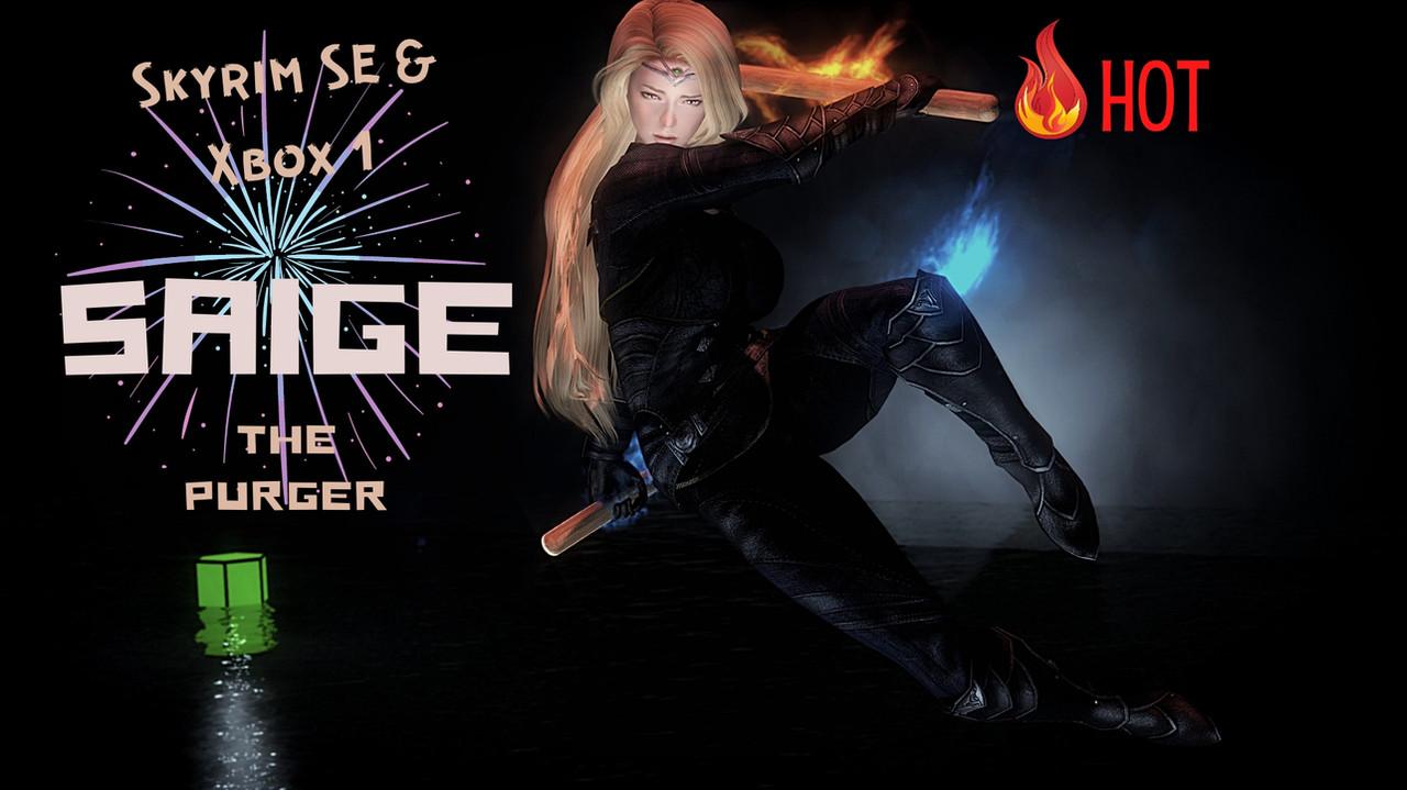 Saige The Purger