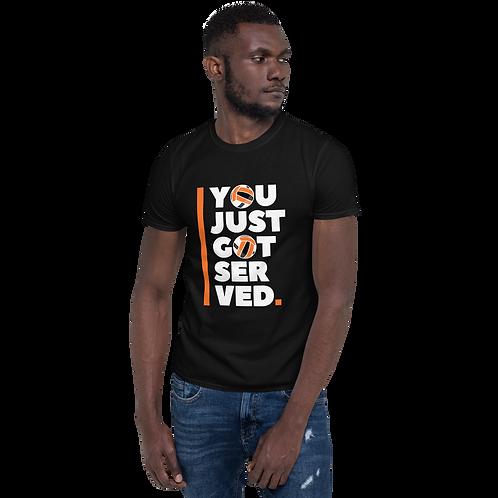Served Short-Sleeve Unisex T-Shirt