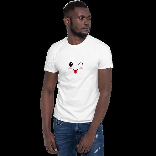Kawaii Face Short-Sleeve Unisex T-Shirt