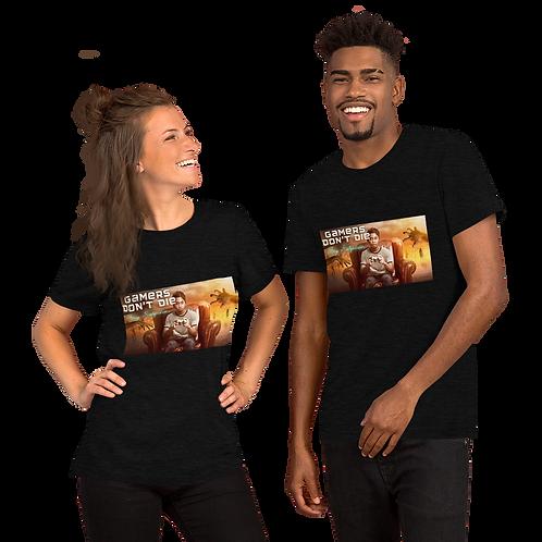 Gamers Don't Die Short-Sleeve Unisex T-Shirt