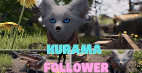 Kurama Follower Skyrim SE LE
