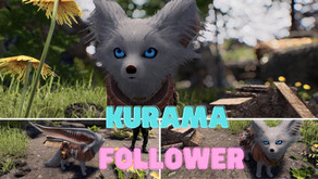 Kurama Follower Skyrim SE LE