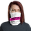 Thumbnail: Modify Neck Gaiter White\Pink