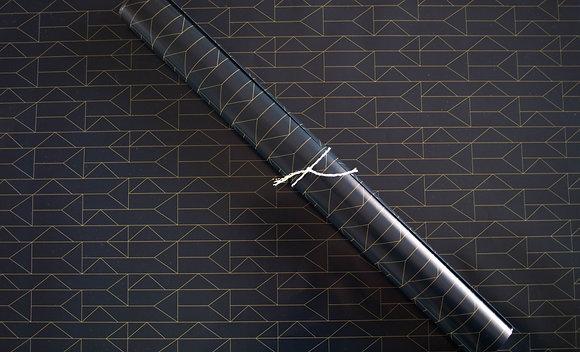 Papier cadeau motifs géométrique