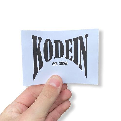 Kodein Sticker
