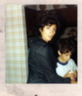 Me and my moms circa 1988.