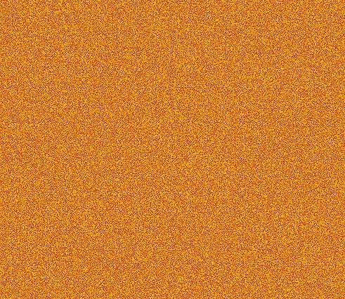 Le magnétiseur émet plusieurs couleurs, La couleur orange est observée avec grossissement.